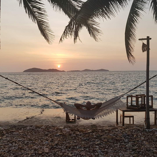 Nam Du island is an ideal place for sunbathing and relaxing. Photo: @lukdop