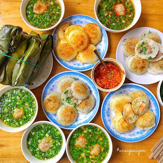 It is great to enjoy Banh Can Ninh Thuan! . Photo: @ansapsaigon