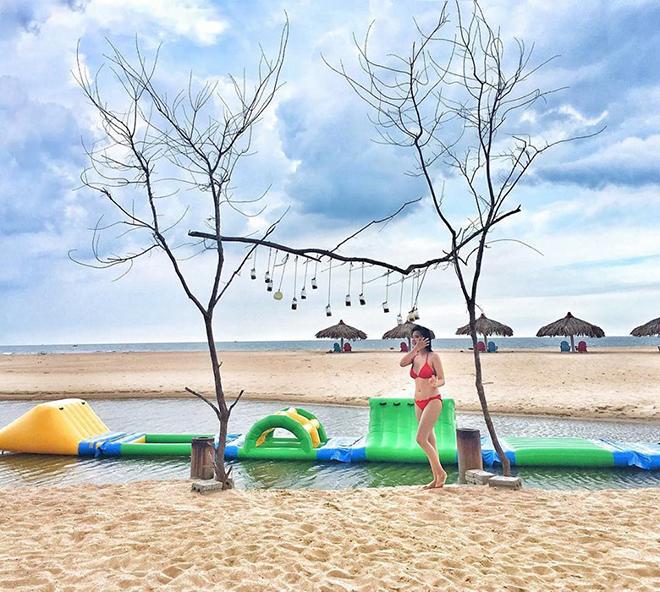 Nét độc đáo của khu du lịch Biển Suối Ồ. Ảnh: @mickey.ngan