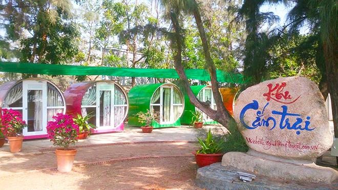 Khách sạn Ống Cống Gió Biển- Kinh nghiệm du lịch Vũng Tàu. Ảnh: Sưu tầm