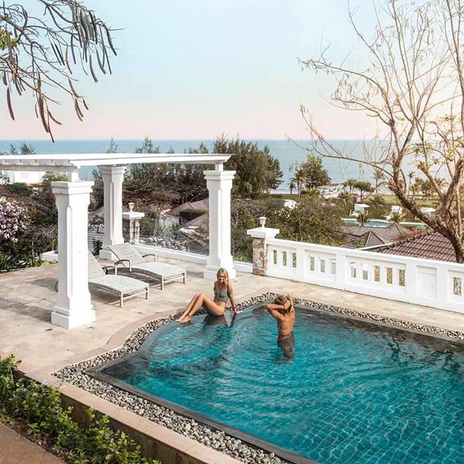 AnOasis Long Hải Resort- Kinh nghiệm du lịch Vũng Tàu. Ảnh: Sưu tầm