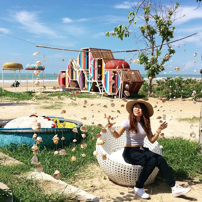 Với cách bài trí ấn tượng cùng cảnh quan thu hút, LU Caming là địa điểm lý tưởng cho du khách đến tham quan, nghỉ dưỡng. Ảnh: @chaneunha