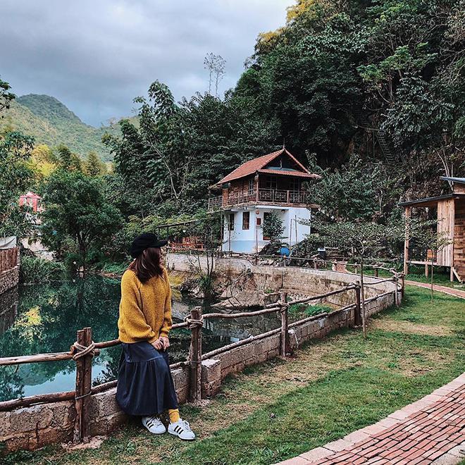 Nhà Bên Suối Homestay- kinh nghiệm du lịch Mộc Châu. Ảnh: @airme.vn