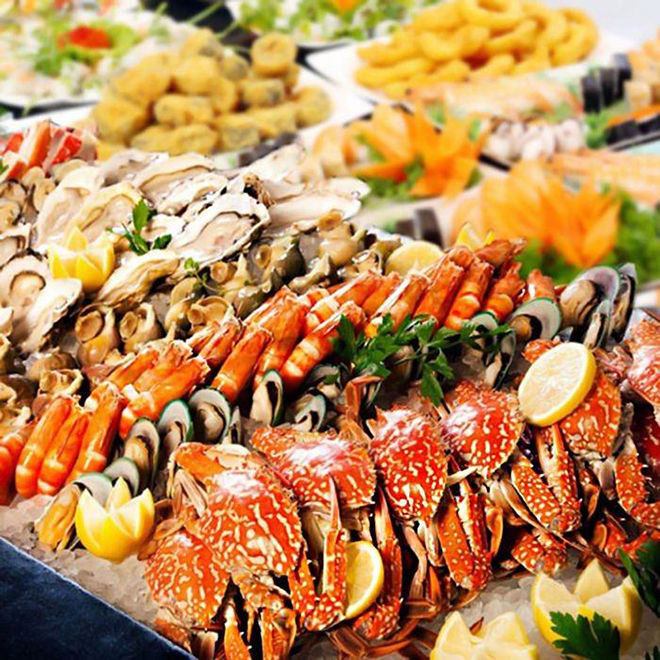 Coming to Vung Tau, you will enjoy fresh seafood in anywhere. Photo: Collection