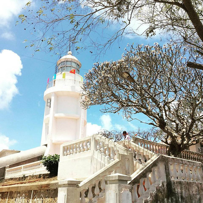 The lighthouse is one of the must-visit destinations in Vung Tau. Photo: Baotrane