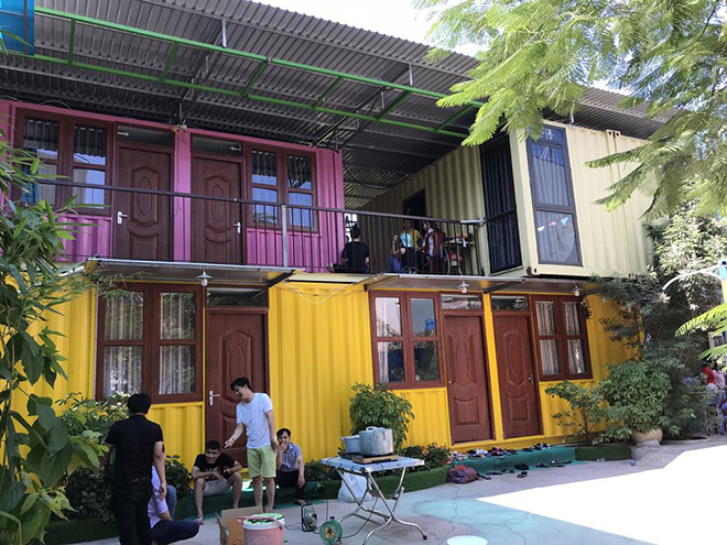 Homestay Container - Vung Tau travel guide. Photo: Collection
